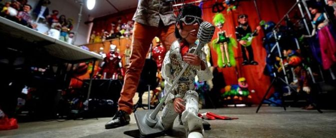 The New Paper Feature: Veteran puppeteer to perform with Elvis Presley and Michael Jackson